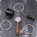 Брелоки с тематикой бариста Брелок для ключей бариста- это аксессуар бариста- это отличный подарок для бариста- это стиль бариста