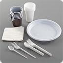 Одноразовая посуда, салфетки