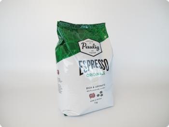 Кофе в зернах Paulig Espresso Originale  (Паулиг Эспрессо Оригинал), 1 кг, вакуумная упаковка