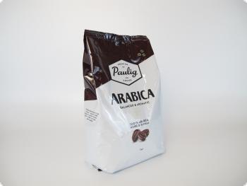 Кофе в зернах Paulig Arabica (Паулиг Арабика), 1 кг, вакуумная упаковка