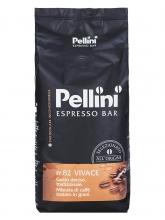 Кофе в зернах Pellini N 82 Vivace Espresso Bar (Пеллини N 82 Виваче Эспрессо Бар)  1 кг, вакуумная упаковка