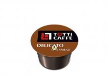 Кофе в капсулах Totti Caffe Delicato (Тотти Кафе Деликато), упаковка 100 капсул, формат Lavazza BLUE