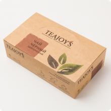 Чай черный TEAJOYS (ТиДжойс), упаковка 100 саше по 2 г, цейлонский