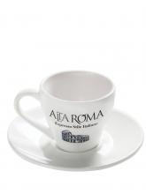 Кофейная пара Alta Roma (Альта Рома), чашка (220 мл) + блюдце