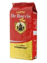 Кофе в зернах De Roccis Rossa Cremoso (Де Роччис Росса Кремосо)  1 кг, вакуумная упаковка