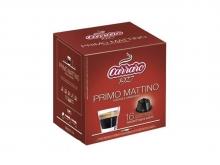 Кофе в капсулах Carraro Primo Mattino (Караро Примо Маттино), упаковка 16 капсул, формат Dolce Gusto (Дольче Густо)