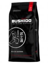 Кофе в зернах Bushido Black Katana (Бушидо Блэк Катана)  1 кг, вакуумная упаковка