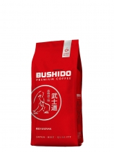 Кофе в зернах Bushido Red Katana (Бушидо Ред Катана)  227 г, вакуумная упаковка