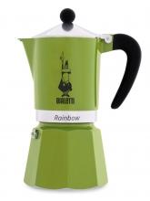 Кофеварка гейзерная Bialetti Rainbow Green (6 чашек)