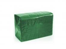 Салфетки БикПак, Зеленые 24х24, 300 шт./упак.